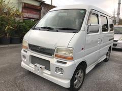 沖縄の中古車 スズキ エブリイワゴン 車両価格 15万円 リ済込 平成13年 14.8万K ホワイト