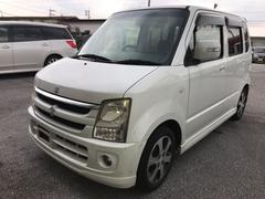 沖縄の中古車 スズキ ワゴンR 車両価格 13万円 リ済込 平成19年 12.5万K ホワイト