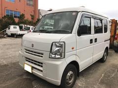 沖縄の中古車 スズキ エブリイ 車両価格 18万円 リ済込 平成22年 26.0万K ホワイト