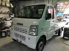 沖縄の中古車 スズキ キャリイトラック 車両価格 23万円 リ済込 平成15年 16.2万K ホワイト