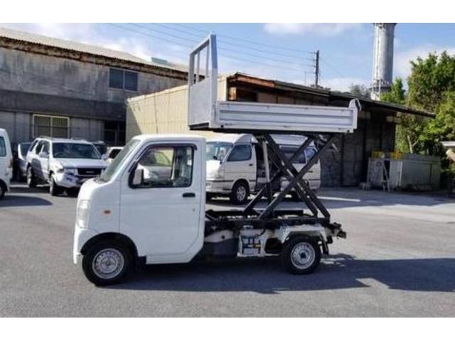沖縄の中古車 スズキ キャリイトラック 車両価格 73万円 リ済込 平成22年 9.9万km ホワイト