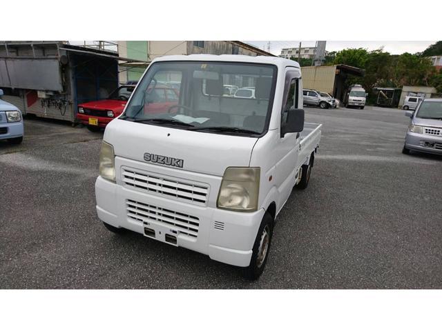 沖縄の中古車 スズキ キャリイトラック 車両価格 28万円 リ済込 平成15年 10.0万km ホワイト