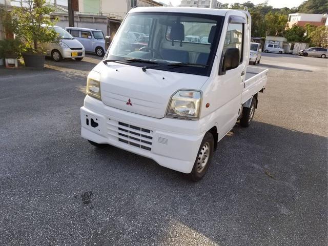 沖縄の中古車 三菱 ミニキャブトラック 車両価格 20万円 リ済込 平成12年 25.9万km ホワイト