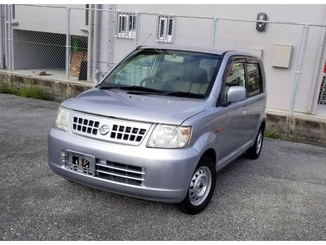 沖縄の中古車 日産 オッティ 車両価格 13万円 リ済込 平成17年 13.3万km シルバー