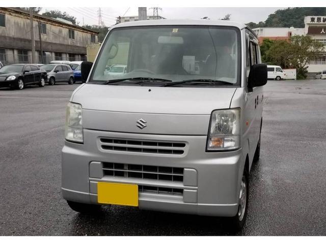 沖縄の中古車 スズキ エブリイ 車両価格 26万円 リ済込 平成18年 11.6万km シルバー