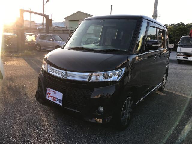 沖縄の中古車 スズキ パレットSW 車両価格 35万円 リ済込 2010(平成22)年 7.5万km パープル
