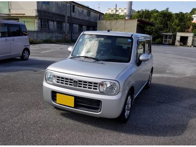 沖縄の中古車 スズキ アルトラパン 車両価格 35万円 リ済込 2009(平成21)年 5.1万km シルバー