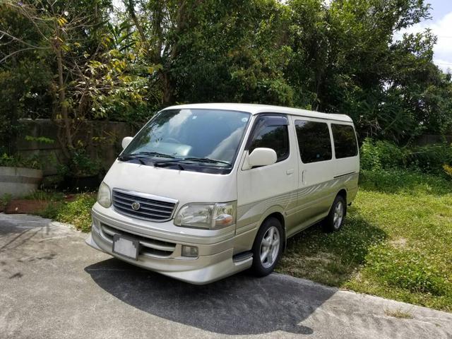 沖縄県豊見城市の中古車ならハイエースワゴン スーパーカスタム
