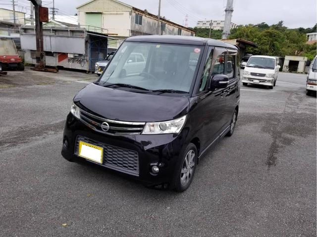 沖縄の中古車 日産 ルークス 車両価格 36万円 リ済込 2010(平成22)年 7.0万km パープル
