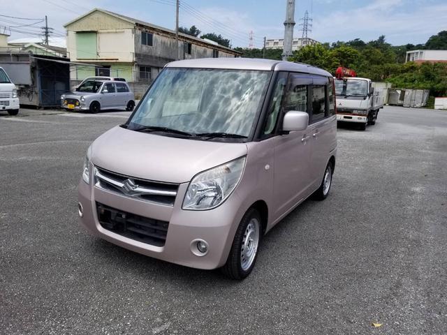 沖縄県豊見城市の中古車ならパレット X バックモニター付AM/FMラジオ・CDプレーヤー