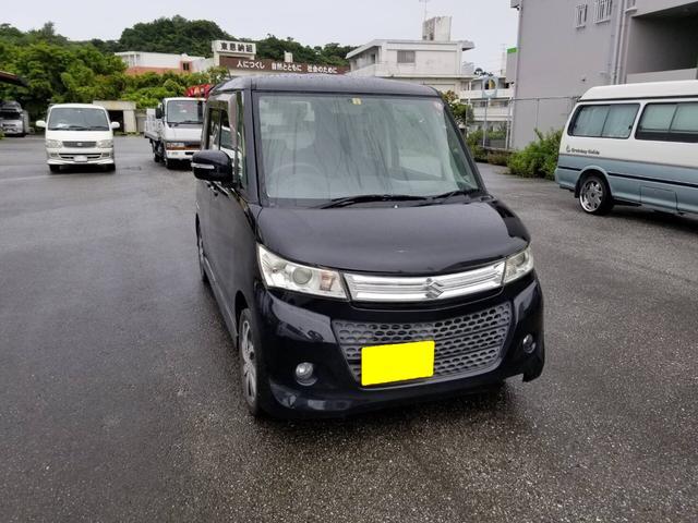 沖縄の中古車 スズキ パレットSW 車両価格 38万円 リ済込 2010(平成22)年 8.5万km ブラック