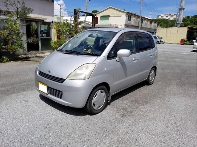 沖縄の中古車 スズキ MRワゴン 車両価格 9万円 リ済込 2001(平成13)年 7.2万km シルバー