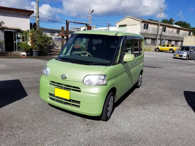 沖縄県豊見城市の中古車ならタント L 左側スライドドア ピラーレス 純正ナビ CD ベンチシート フル装備 オートマ車
