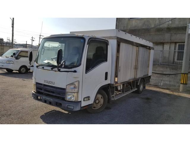 沖縄県の中古車ならエルフトラック  パネルバン ボトルカー 最大積載量2400kg 長さ614cm 幅195cm 高さ248cm