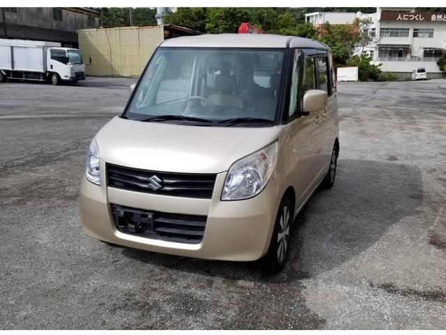 沖縄の中古車 スズキ パレット 車両価格 20万円 リ済込 2011(平成23)年 14.8万km ゴールド