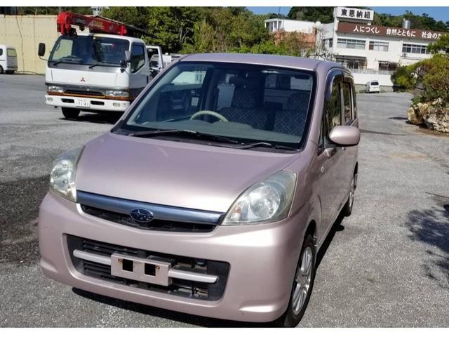 沖縄の中古車 スバル ステラ 車両価格 12万円 リ済込 2007(平成19)年 11.2万km ピンク