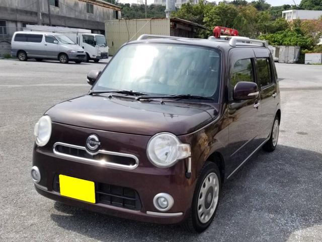 沖縄県豊見城市の中古車ならミラココア ココアプラスX CVT ベンチシート インパネAT フォグランプ ルーフレール 軽自動車 4人乗り