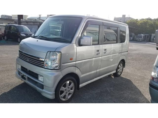 沖縄の中古車 スズキ エブリイワゴン 車両価格 34万円 リ済込 2006(平成18)年 8.5万km シルバー