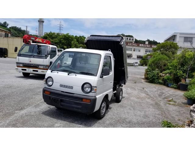 沖縄県の中古車ならキャリイトラック ダンプ ハイロー切替 4WD  4速マニュアル
