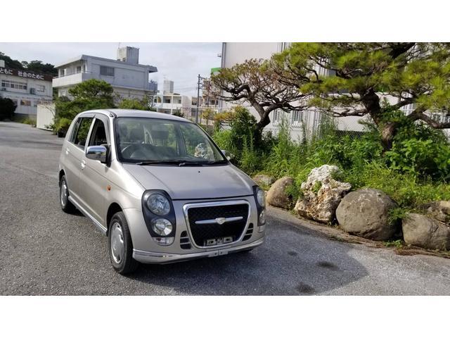 沖縄の中古車 三菱 ミニカ 車両価格 12万円 リ済込 2000(平成12)年 14.4万km シルバー