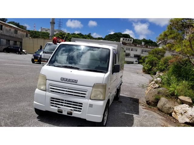 沖縄県豊見城市の中古車ならキャリイトラック  -3度冷凍車 パネルバン フロアAT 2名乗り 冷凍軽トラック