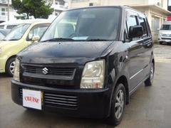 沖縄の中古車 スズキ ワゴンR 車両価格 19万円 リ済込 平成17年 11.7万K ブラックM