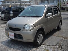 沖縄の中古車 スズキ Kei 車両価格 14万円 リ済込 平成18年 9.5万K ゴールド