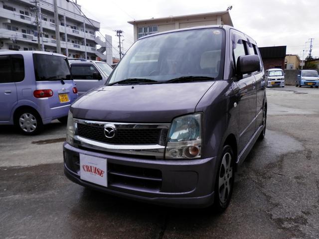 沖縄の中古車 マツダ AZワゴン 車両価格 34万円 リ済込 平成20年 8.7万km ライトパープルM