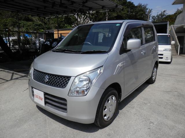 沖縄の中古車 スズキ ワゴンR 車両価格 32万円 リ済込 平成21年 9.4万km シルバーM