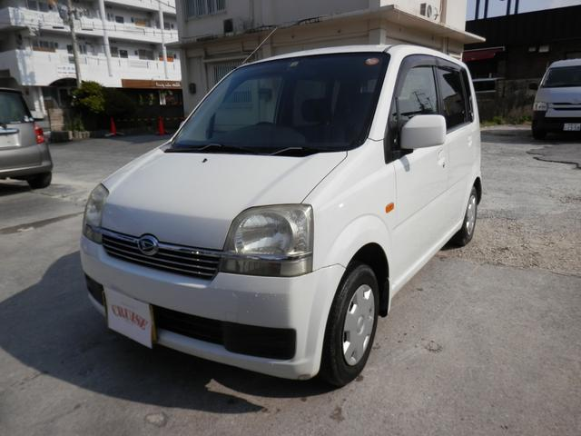 沖縄の中古車 ダイハツ ムーヴ 車両価格 15万円 リ済込 平成16年 9.3万km ホワイト