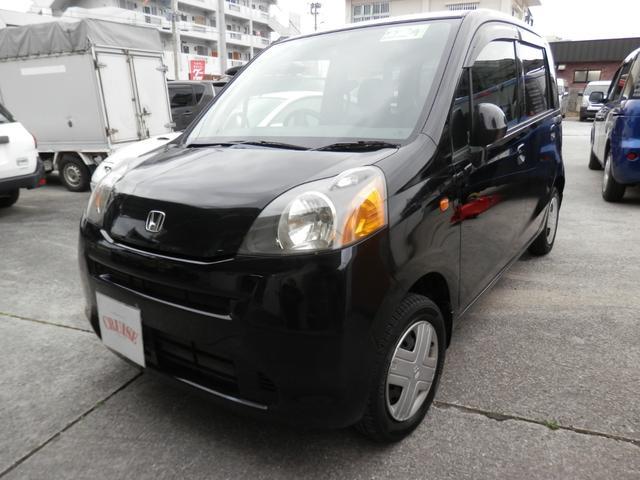 沖縄の中古車 ホンダ ライフ 車両価格 29万円 リ済込 平成22年 10.4万km ブラックM