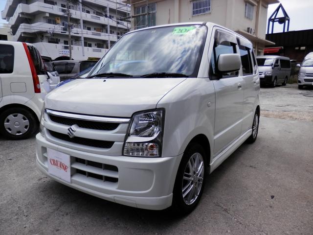 沖縄の中古車 スズキ ワゴンR 車両価格 24万円 リ済込 平成20年 10.9万km パールホワイト