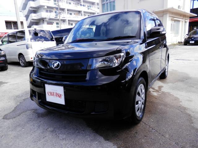 沖縄の中古車 トヨタ bB 車両価格 25万円 リ済込 平成23年 12.5万km ブラックM