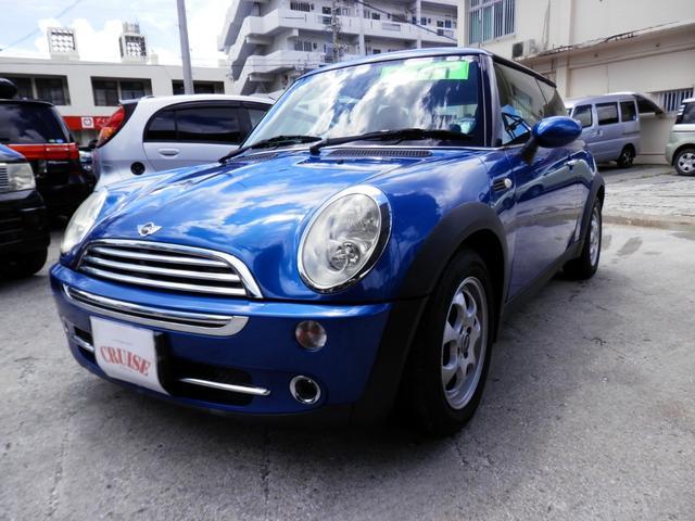 沖縄の中古車 MINI MINI 車両価格 30万円 リ済込 2006(平成18)年 9.7万km ブルーM