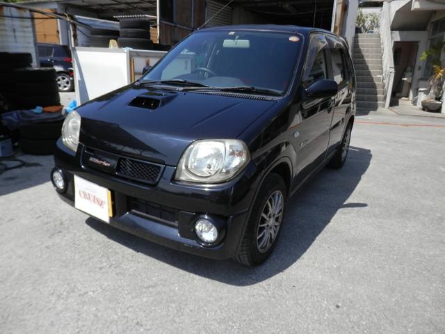 沖縄の中古車 スズキ Keiワークス 車両価格 29万円 リ済込 2006(平成18)年 12.7万km ブラックM