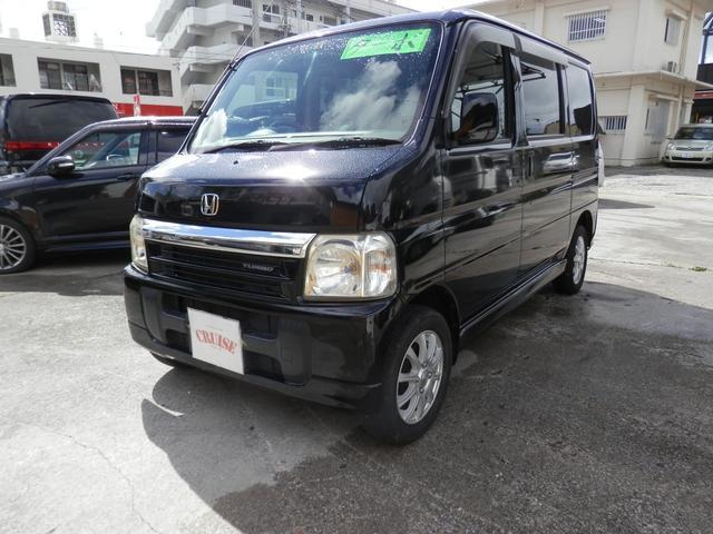 沖縄の中古車 ホンダ バモス 車両価格 22万円 リ済込 2002(平成14)年 15.0万km ブラックM