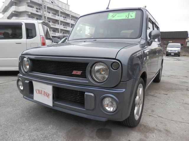 沖縄の中古車 スズキ アルトラパン 車両価格 16万円 リ済込 2003(平成15)年 15.0万km グレーM
