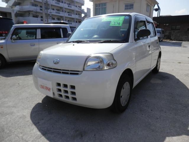 沖縄の中古車 ダイハツ エッセ 車両価格 17万円 リ済込 2008(平成20)年 12.2万km ホワイト