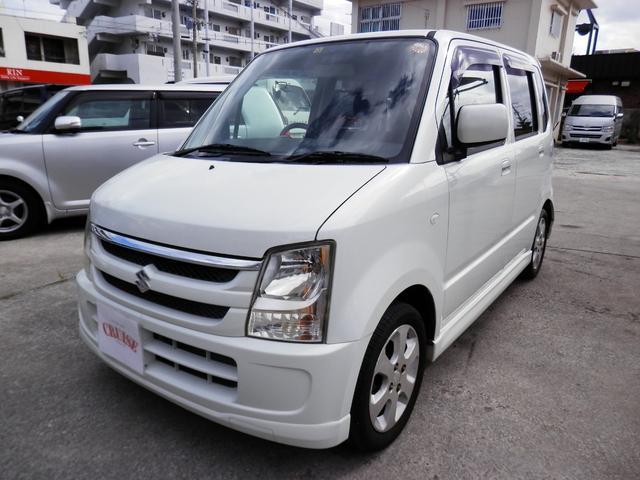 沖縄の中古車 スズキ ワゴンR 車両価格 23万円 リ済込 2006(平成18)年 10.5万km パールホワイト