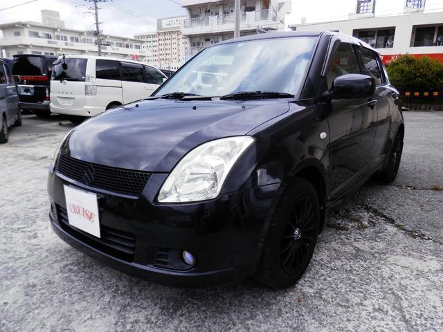 沖縄の中古車 スズキ スイフト 車両価格 22万円 リ済込 2005(平成17)年 10.1万km ブラックM