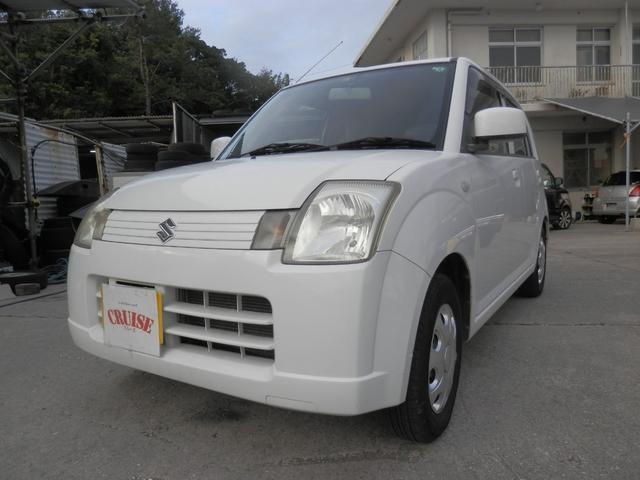 沖縄の中古車 スズキ アルト 車両価格 20万円 リ済込 2007(平成19)年 10.0万km ホワイト