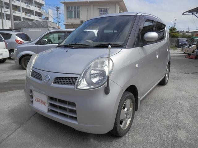 沖縄の中古車 日産 モコ 車両価格 16万円 リ済込 2006(平成18)年 8.0万km シルバーM