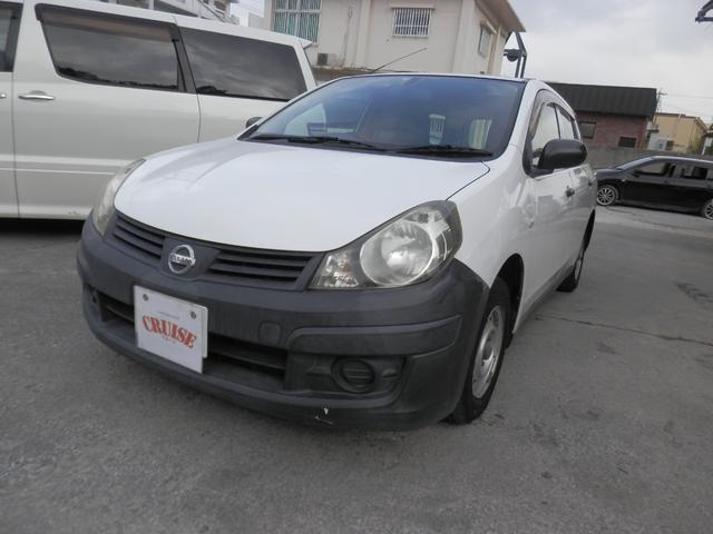 沖縄の中古車 日産 AD 車両価格 25万円 リ済込 2012(平成24)年 7.3万km ホワイト