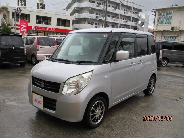 沖縄の中古車 スズキ パレット 車両価格 19万円 リ済込 2009(平成21)年 14.8万km シルバーM