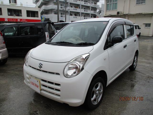沖縄の中古車 スズキ アルト 車両価格 22万円 リ済込 2013(平成25)年 10.9万km ホワイト