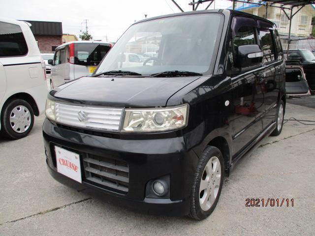 沖縄の中古車 スズキ ワゴンR 車両価格 22万円 リ済込 2008(平成20)年 11.1万km ブラックM