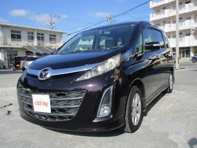 沖縄の中古車 マツダ ビアンテ 車両価格 35万円 リ済込 2009(平成21)年 12.2万km ブラウンM