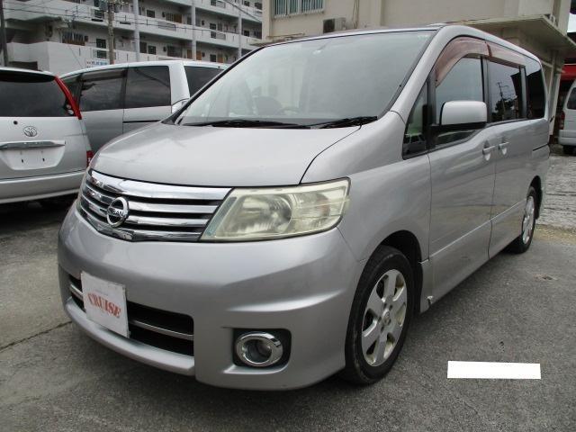 沖縄の中古車 日産 セレナ 車両価格 33万円 リ済込 2007(平成19)年 11.5万km シルバーM