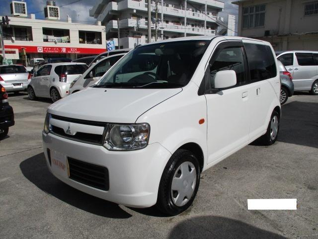 沖縄の中古車 三菱 eKワゴン 車両価格 23万円 リ済込 2008(平成20)年 10.8万km ホワイト