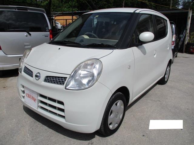 沖縄の中古車 日産 モコ 車両価格 17万円 リ済込 2010(平成22)年 12.5万km パールホワイト